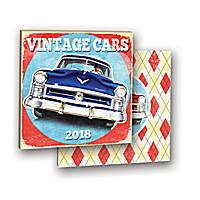 Vintage Cars Album Calendar 2018 by Orange Circle Studio