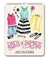 Dress to Impress Poster Calendar 2018 by Orange Circle Studio