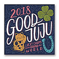 Good Juju Wall Calendar 2018 by Orange Circle Studio