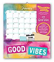 Good Vibes Pocket Plus Calendar 2018 by Orange Circle Studio