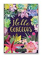 Hello Gorgeous Monthly Pocket Planner 2018 by Orange Circle Studio