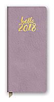Hello Lavender Leatheresque Jotter Agenda 2018 by Orange Circle Studio