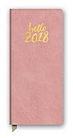 Hello Pink Leatheresque Jotter Agenda 2018 by Orange Circle Studio