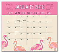 Potpourri Magnetic Monthly Pad 2018 by Orange Circle Studio