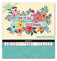 Secret Garden Do it All Wall Calendar 2018 by Orange Circle Studio