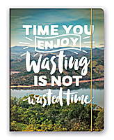 Time You Enjoy Wasting Just Right Monthly Planner 2018 by Orange Circle Studio