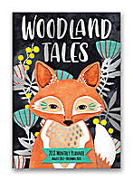 Woodland Tales Monthly Pocket Planner 2018 by Orange Circle Studio
