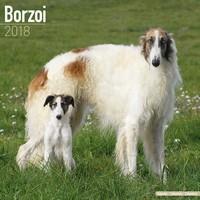 Borzoi Wall Calendar 2018 by Avonside