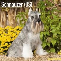 Schnauzer (US) Wall Calendar 2018 by Avonside