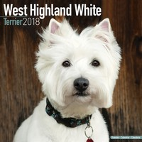West Highland Terrier Wall Calendar 2018 by Avonside