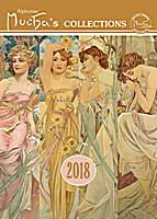 Alphonse Mucha Calendar 2018 by Presco Group