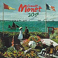 Claude Monet Calendar 2018 by Presco Group
