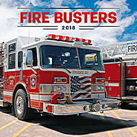 Fire Busters Calendar 2018 by Presco Group