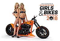 Girls & Bikes by Jim Gianatsis Calendar 2018 by Presco Group