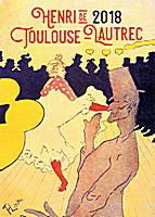Henri de Toulouse-Lautrec Calendar 2018 by Presco Group