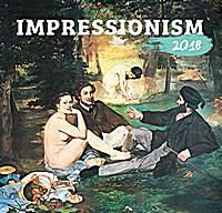 Impressionism Calendar 2018 by Presco Group