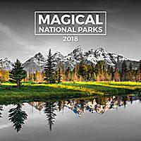 Magical National Parks Calendar 2018 by Presco Group