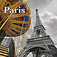 Paris Calendar 2018 by Presco Group