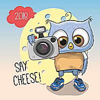 Wise Owl Family Calendar 2018 by Presco Group